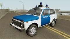 VAZ 2121 (Police) 1994 for GTA San Andreas