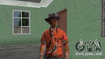 Nikolai Dobrynin (in the role of Mitya Buhangin) v.4 for GTA San Andreas