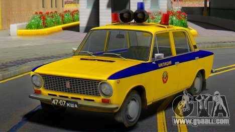 VAZ-21011 1978 Police for GTA San Andreas
