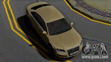 Audi A8 D3 for GTA San Andreas