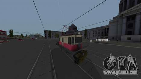 Tram GS-4 CRTS Cleaning for GTA San Andreas