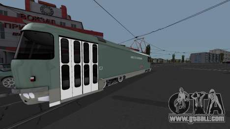 Tram Tatra T3SU Watering for GTA San Andreas