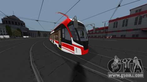 Tramway 71-911EM Lion for GTA San Andreas
