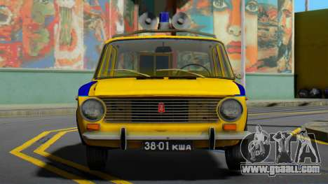 VAZ-2101 Soviet police for GTA San Andreas
