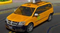 Dodge Grand Caravan 2009 Taxi for GTA San Andreas