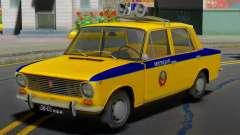 VAZ-2101 Soviet police