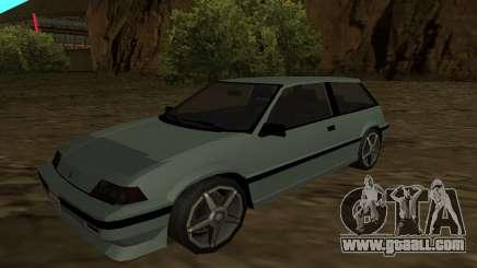 Honda Civic Hatchback 3 Gen (SA Style) for GTA San Andreas