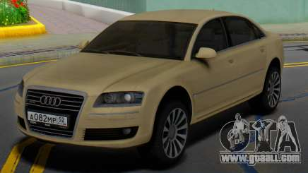Audi A8 D3 for GTA San Andreas