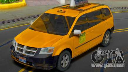 Dodge Grand Caravan 2009 Taxi for GTA San Andreas