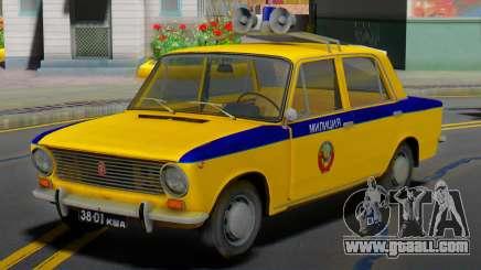 VAZ-2101 Soviet police for GTA San Andreas