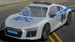 Audi R8 2015 Police