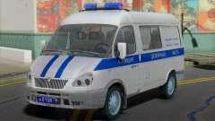 GAZ 2217 Sobol Police the Duty of for GTA San Andreas