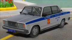 Vaz 2107 PPP Police 2004 for GTA San Andreas