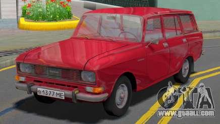 AZLK 2137 Wagon for GTA San Andreas