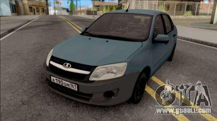 Lada Granta Grey Bumper for GTA San Andreas