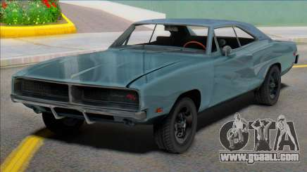1969 Dodge Charger (renderhook) for GTA San Andreas