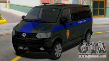 Volkswagen Transporter T5 FSB of Russia for GTA San Andreas