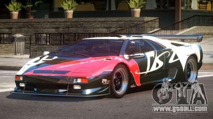 Lamborghini Diablo Super Veloce L7 for GTA 4