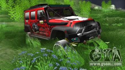 Jeep Wrangler Rubicon Caterpillar for GTA San Andreas