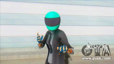 PAYDAY 2 - Sydney With Biker Helmet for GTA San Andreas
