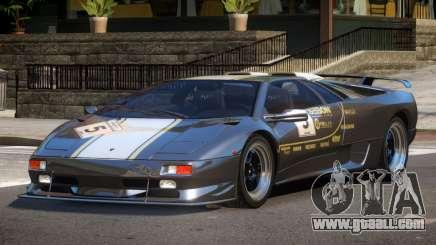 Lamborghini Diablo Super Veloce L3 for GTA 4