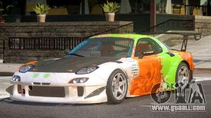 Mazda RX7 CPS PJ3 for GTA 4
