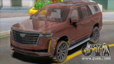 Cadillac Escalade 2020 for GTA San Andreas