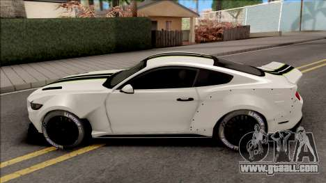Ford Mustang 2015 NFS Payback Impoved for GTA San Andreas