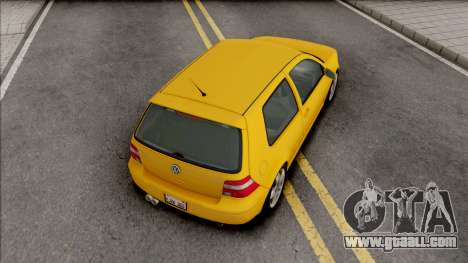 Volkswagen Golf GTI MK4 2001 for GTA San Andreas