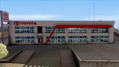 Toyota San Fierro Dealer Store for GTA San Andreas