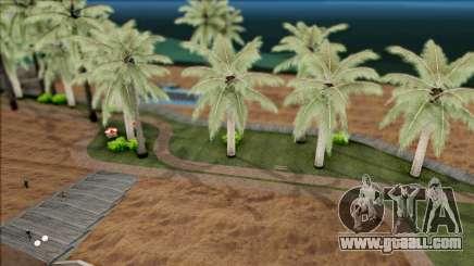 Realistic Beach in Los Santos 4K for GTA San Andreas