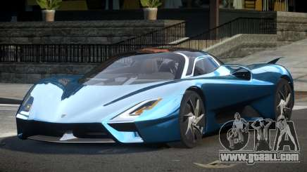 Shelby Super Cars Tuatara for GTA 4
