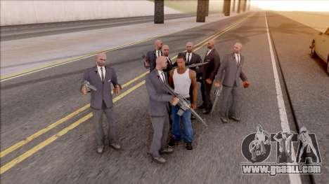 Convoy Protection v3 for GTA San Andreas