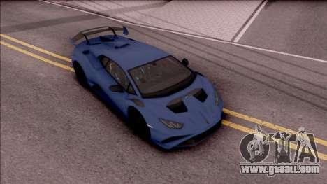 Lamborghini Huracan STO 2020 for GTA San Andreas