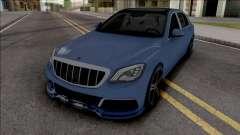 Mercedes-Maybach S650 Brabus Rocket 900 Blue