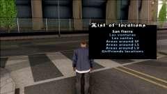 Teleportation Mod for GTA San Andreas