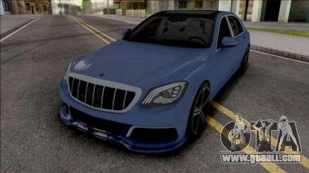 Mercedes-Maybach S650 Brabus Rocket 900 Blue for GTA San Andreas