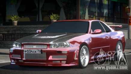 Nissan Skyline R34 H-Tuned for GTA 4
