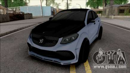 Mercedes-AMG GLE 63 Coupe Hamann for GTA San Andreas