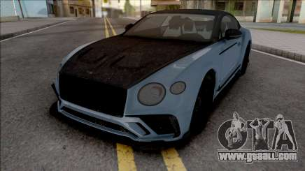 Bentley Continental GT Mansory HQ for GTA San Andreas