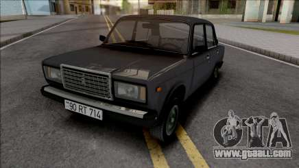 Vaz 2107 Akvarium Style for GTA San Andreas