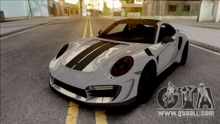 Porsche 911 Stinger GTR 2017 TopCar for GTA San Andreas
