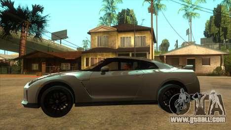 Nissan GT-R R35 SA for GTA San Andreas