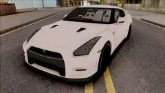 Nissan GTR R35 2015 (SA Lights) for GTA San Andreas