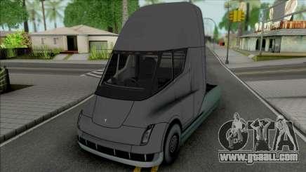 Tesla Semi for GTA San Andreas