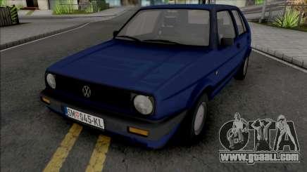 Volkswagen Golf Mk2 1990 [5 Door] for GTA San Andreas