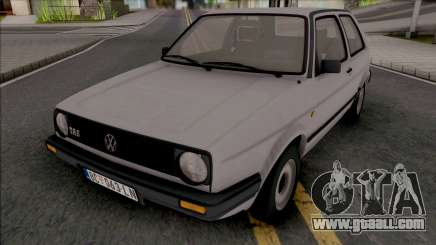 Volkswagen Golf MK2 TAS JX [2 Door] for GTA San Andreas