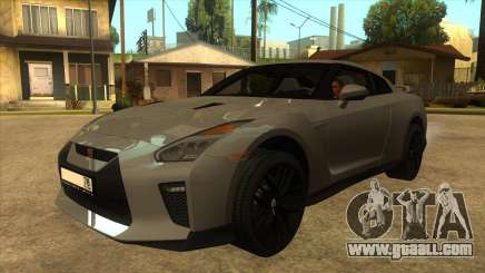 Nissan GT-R R35 SA for GTA San Andreas