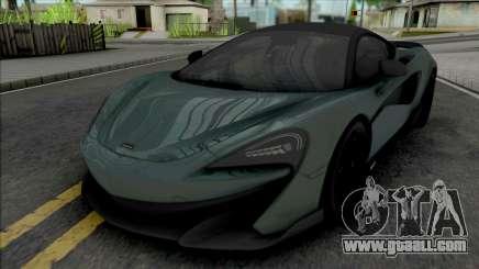 McLaren 600LT (SA Lights) for GTA San Andreas