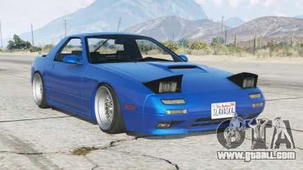 Mazda Savanna RX-7 (FC3S) 1989 add-on for GTA 5